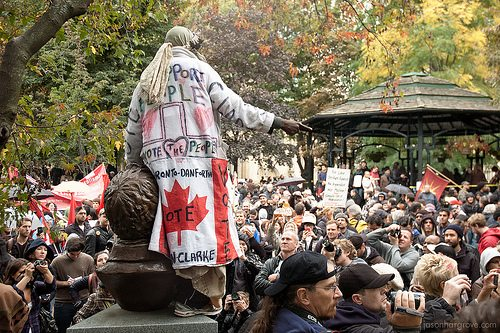 Some more Occupy Toronto photos